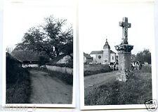 Haute-Saône . Saint-Sulpice . lot de 2 photos 1950/60 .