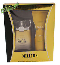Pure P.U.R.E. Million by Giorgio Valenti 2 Ps Set 3.3/3.4 oz edt  Spray For Men