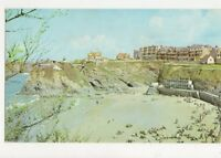 Beachview Hotel Newquay Old Postcard Cornwall 431a