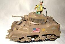 1:32 Ultimate Soldier U.S WWII M5A-1 Stuart Vigilant Tank  w/ Mine Plow