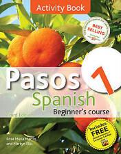 Pasos 1 Spanish Beginner's Course: Activity Book: Intermediate Course in...
