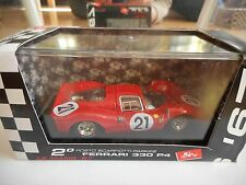 Brumm Ferrari 330 P4 # 21 Coupe 1967 Le Mans 1967 in Red on 1:43 in Box