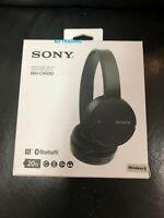 Sony WH-CH500 Stamina Wireless On-Ear Bluetooth Headphones WHCH500/B Black MINT