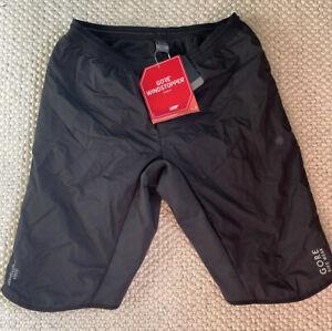 Gore Bike Wear Mens Insulated Black Cycling Shorts XXL BNWT