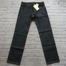 New Levis 201 Selvedge Buckle Back Denim Jeans Raw Sample LVC