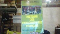 Histoire des parachutistes français de Henri Le Mire | Livre | d'occasion