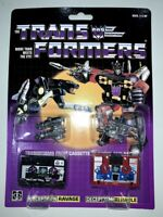 Transformers G1 Decepticons cassette ravage rumble reissue brand new Gift
