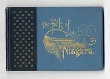 Rarität Amerika USA Niagara Wasserfall Touristik Bilder Album um 1890