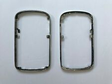 OEM BlackBerry Bold Touch 9900 Silver Bezel Housing Outer Frame with Buttons