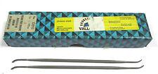 10 Grobet Swiss Vallorbe Präzisions Riffelfeilen L=170 SH-2 Nr.12813 Neu H16206