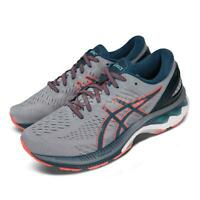 Asics Gel-Kayano 27 4E Extra Wide Grey Blue Orange Men Running Shoe 1011A833-021