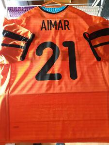Camiseta Valencia maillot valence Aimar shirt vintage vcf argentina messi lfp
