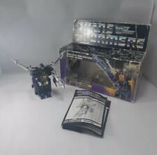Insecticon Shrapnel - G1 Transformer - With gun, box, instructions
