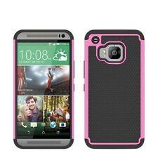 Étuis, housses et coques rose en plastique rigide pour téléphone mobile et assistant personnel (PDA) HTC