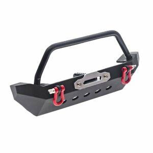 RC Car DIY Metal Front Bumper For 1/10 Traxxas TRX4 Axial SCX10 90046 Upgrade