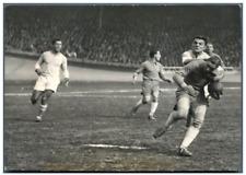 France, Finale du Championnat de Rugby: Agen contre Bayonne  Vintage silver prin