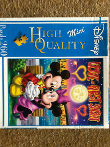 Disney 260 Piece Jigsaw Puzzle Mickey And Minnie Mouse