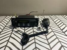 Motorola Cdm1250 Two Way Mobile Radio Unit With Mic Antenna Aam25shd9aa2an
