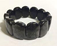 Shungite Bracelet Elite Shungite Oval Bracelet Stretchy Noble Protect Reiki Heal