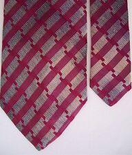 """Tie Rack Men's Silk Novelty Neck Tie Purple 3 3/4"""" x 58"""""""