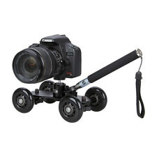 Dolly Stabilizer Table Car+360 Tripod Ball Head+Handheld Monopod for DSLR Camera