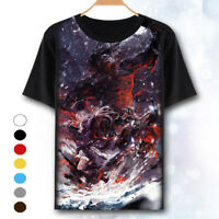 Anime Fate Stay Night Summer Unisex Short Sleeve T-Shirt Tee Casual Tops #F65