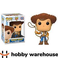 Funko Toy Story 4 - Sheriff Woody Pop! Vinyl Figure