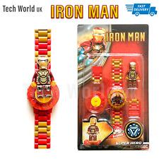 Digital Screen Iron Man Wrist Watch For Children Unisex School Boys Girls Kids