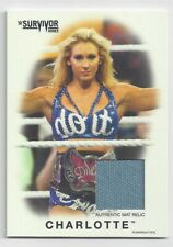 2016 TOPPS WWE HERITAGE MAT RELIC CHARLOTTE FLAIR #132/199