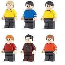 Star Trek Original TV Show Minifigure 6 figure set Kirk Spock Scotty movie Bones
