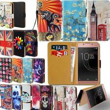 Leather Smart Stand Wallet Cover Case For Sony Xperia Z 1/2/3/4/5 Phones