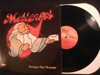 MESSENGER - Bringin' The Message - 1978 Vinyl 12'' Lp./ VG+/ Christian Rock