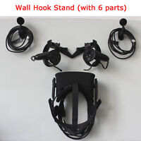 Wall Mount Hook Stand for Oculus Rift CV1 VR Headset and Touch and Sensor Holder