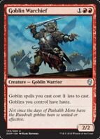 4x NM-Mint, English Foil Goblin Warchief - Foil Dominaria magicmtg