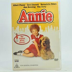 Annie DVD 2003 Aileen Quinn Good Condition Free AU Tracked Post