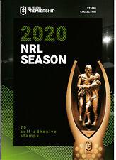 "2020 NRL PREMIERSHIP SEASON ""THAT NEVER WAS"" DECIMAL STAMP PRESENTATION PACK MUH"