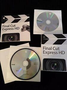 Apple Final Cut Express 3.5 & tutorial