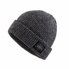 b59291d3b32fe SCRUFFS MENS VINTAGE BOBBLE BEANIE HAT WARM WORK WINTER KNITTED WOOLY  THERMAL