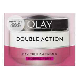 Olay Double Action Moisturiser Day Cream and Primer, 50 ml BNIB