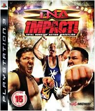 TNA Impact! PS3 NonStop Action Wrestling Video Game (Sony PlayStation 3, 2008)