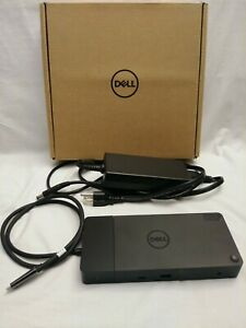 Dell WD19TB WD19 Dock 180W Thunderbolt Docking Station FREE Monitor Cable
