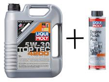 ENGINE OIL Liqui Moly Top Tec 4200 C2 5W30 8973 - 5 Litre + ENGINE FLUSH - 8374