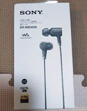 Player Black Walkman Noise canceling Earphone Sony IER-NW500N Japan NEW