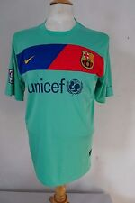 BARCELONA  Away Shirt  2010-11    Nike    #13    size L   079 W