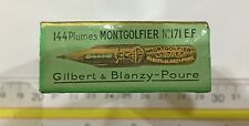 Exceptional Manga Nib | 1-Gross Box Gilbert & Blanzy-Poure Montgolfier No171 Ef