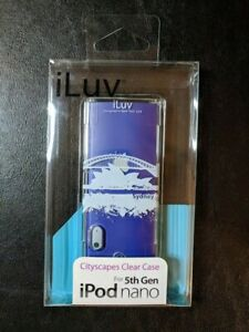 iLuv iCC306 Sydney Cityscapes Clear Hard Case for Apple iPod 5th Generation Nano