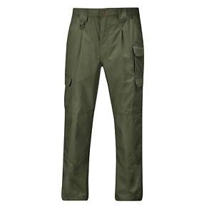 38 X 30 Propper Tactical Light Weight Pants - No Belt - OD Green Ripstop 65/35