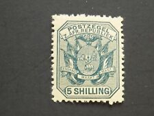 (1) MNH Transvaal stamp off paper-Scott # 160-Wagon with Pole