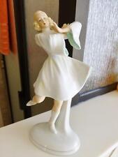 Gorgeous German SCHAUBACH KUNST Art Deco Dancer Porcelain Figurine Excellent