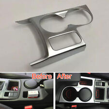 Car Interior Water Cup Holder Cover Panel Trim Bezel Frame Garnish For CX-5 CX5